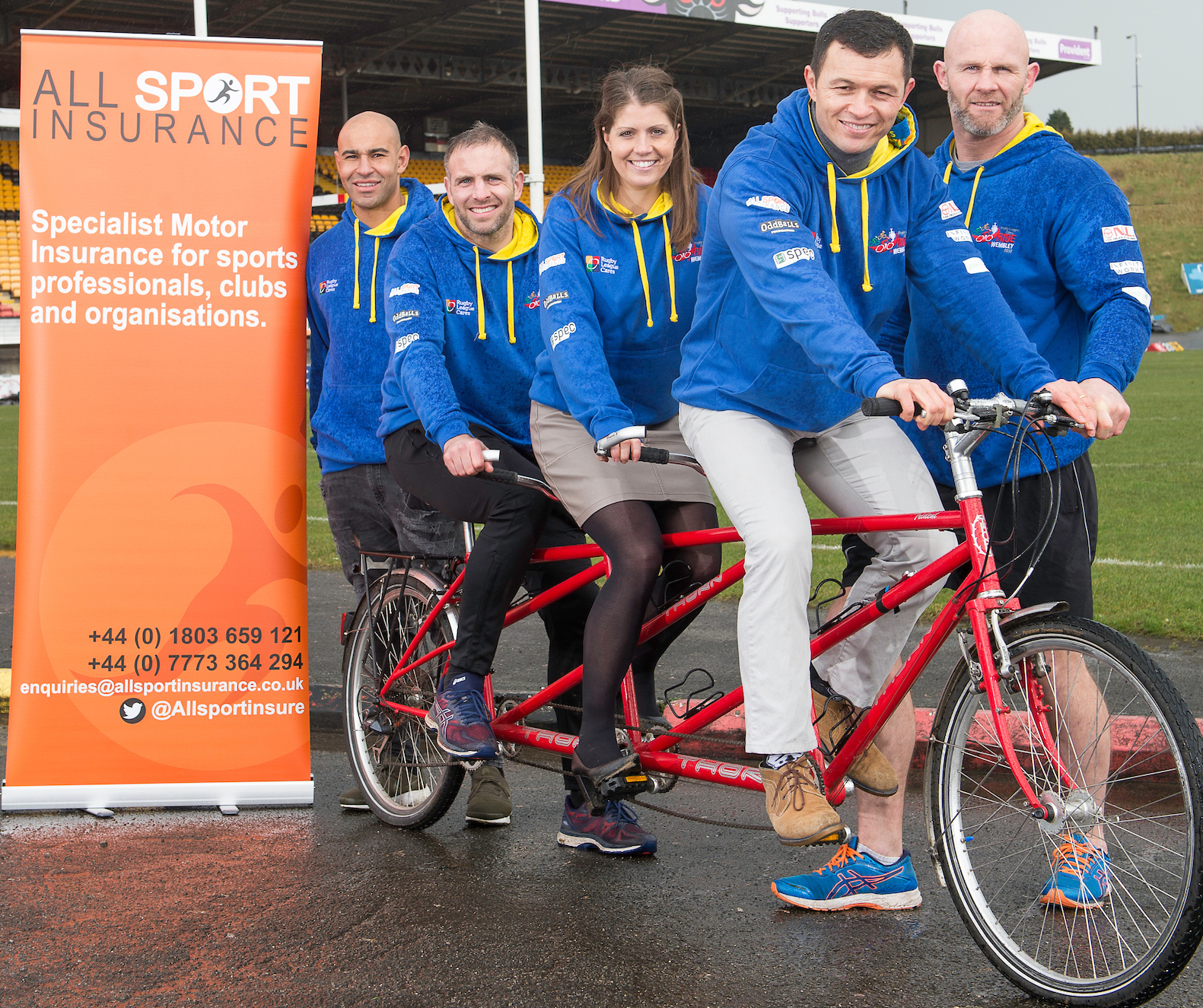 All Sport Insurance saddle up for the 2018 Ride to Wembley