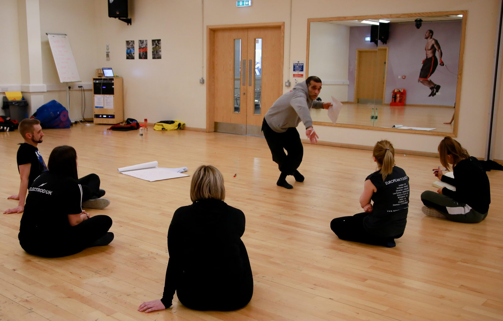 Creative dance workshop inspires Rugby League club foundations