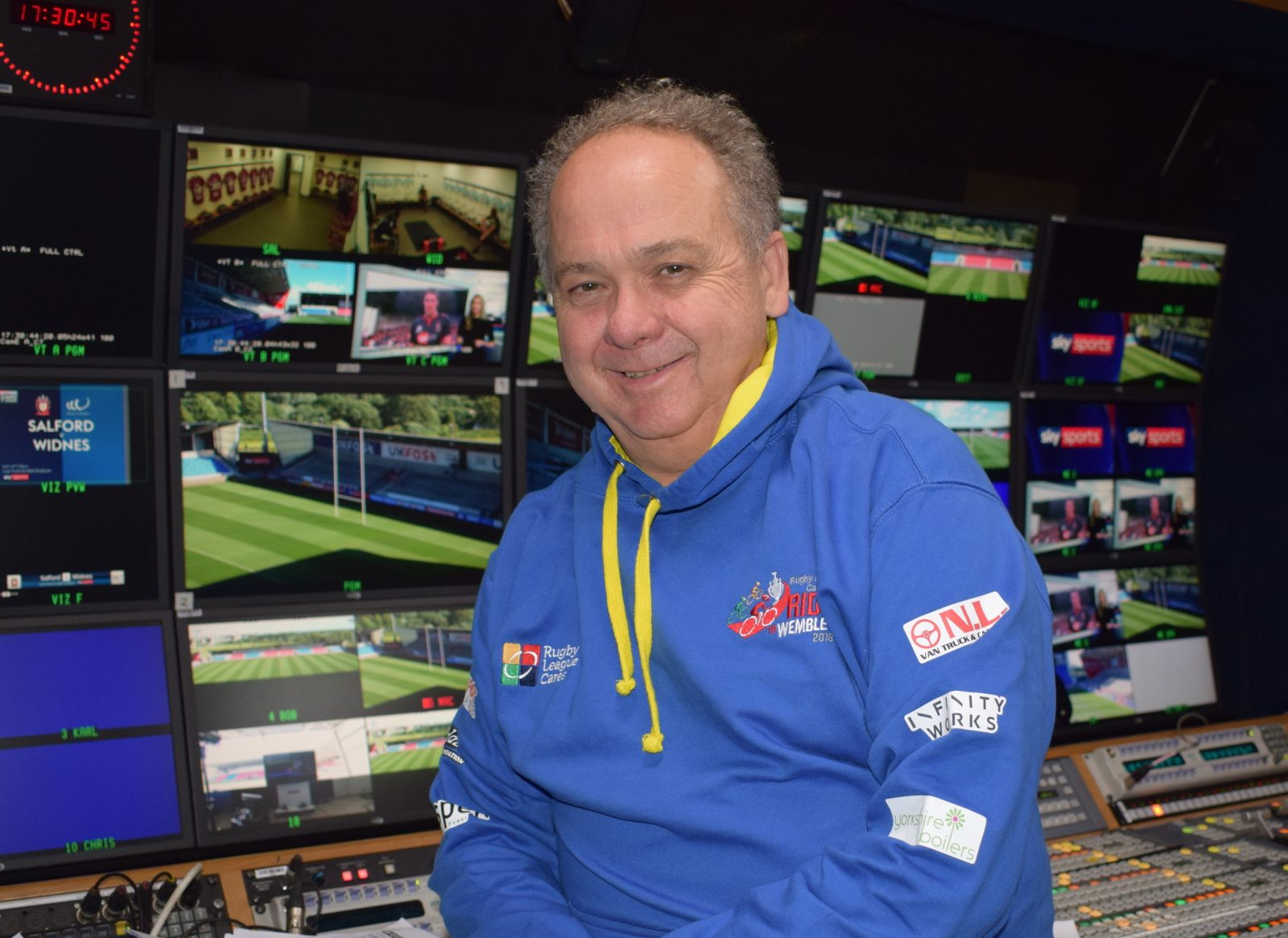 Sky Sports' Rugby League supremo joins the Ride to Wembley