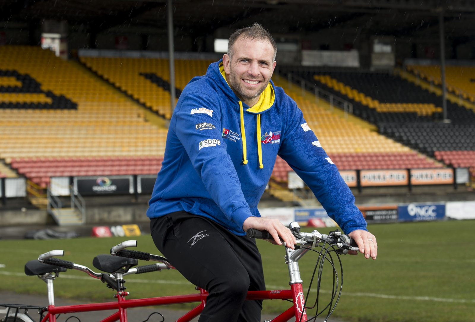 Andy Lynch joins the Ride to Wembley
