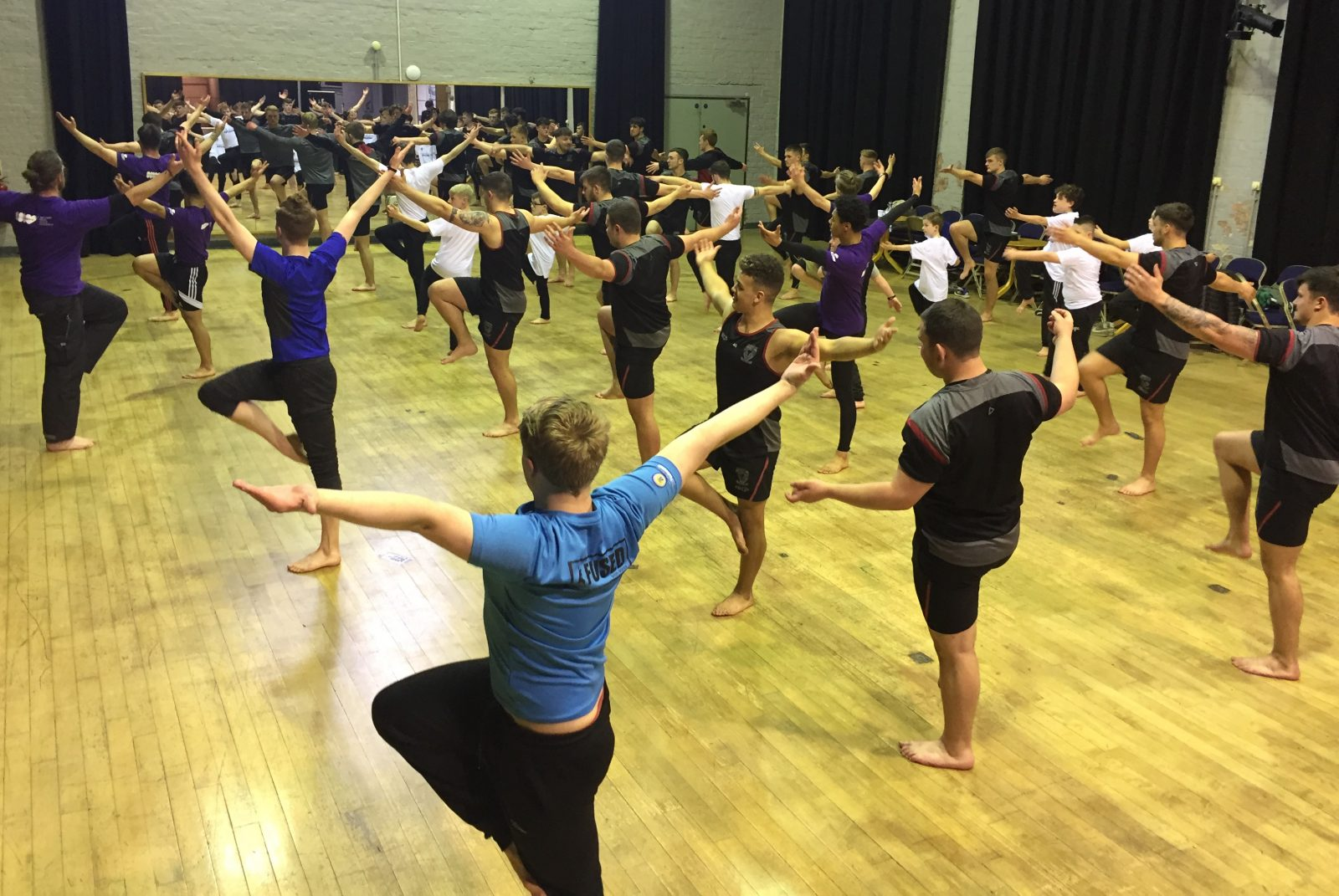 Warrington's young stars learn how to dance with Wolves