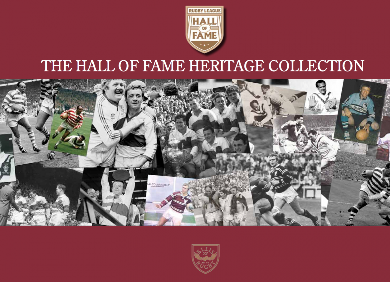 New clothing range celebrates RL Hall of Fame legends