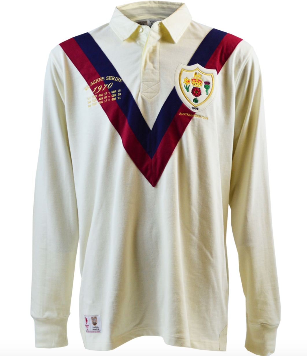 cb511e83491 The Billy Boston range has a jersey and polo based on Wigan s 1959 and 1965  Challenge Cup successes and his Great Britain jersey from the 1962 Lions  tour.