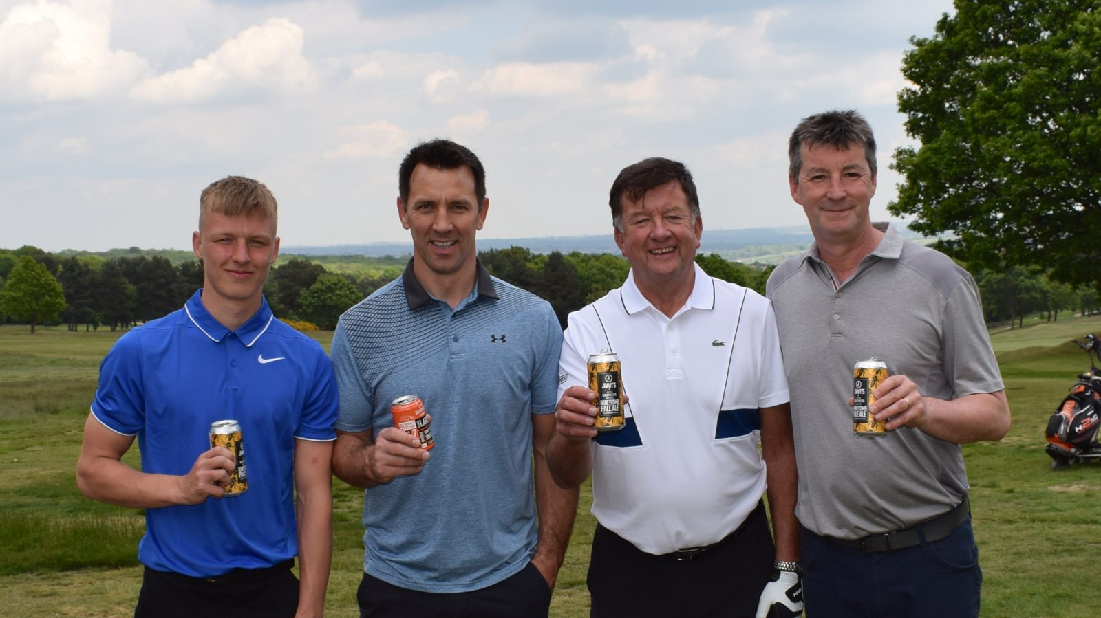 Scully stars at our golf day with prize-winning display