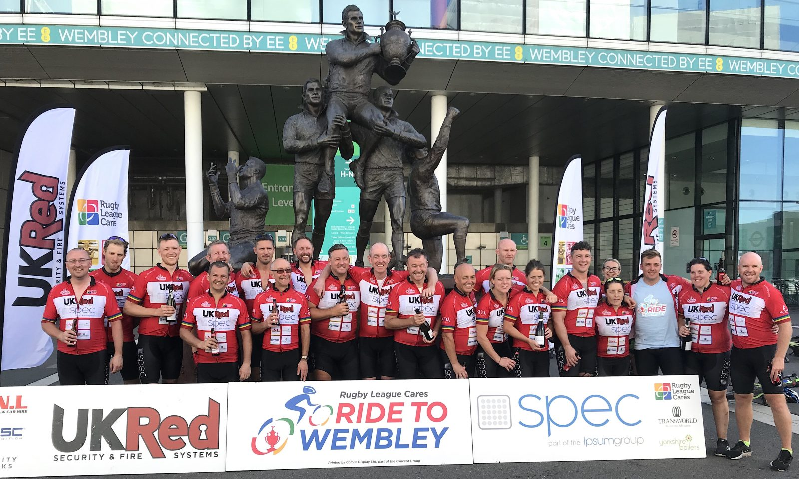 Ride to Wembley 2019 raises over £35,000