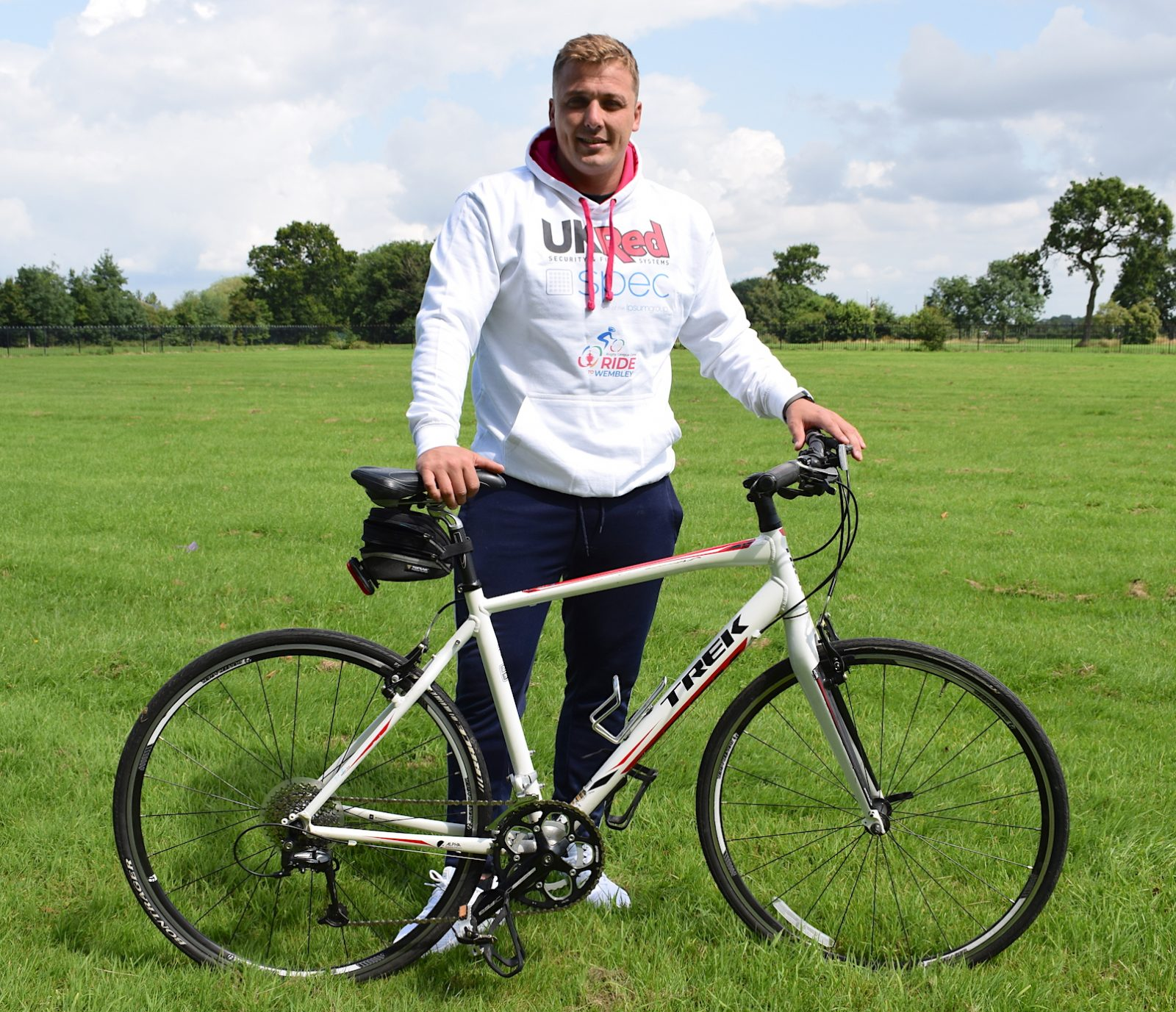 Lee Smith to take on the Ride to Wembley challenge