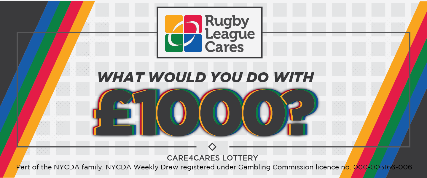 This week's £1,000 Care4Cares draw winner