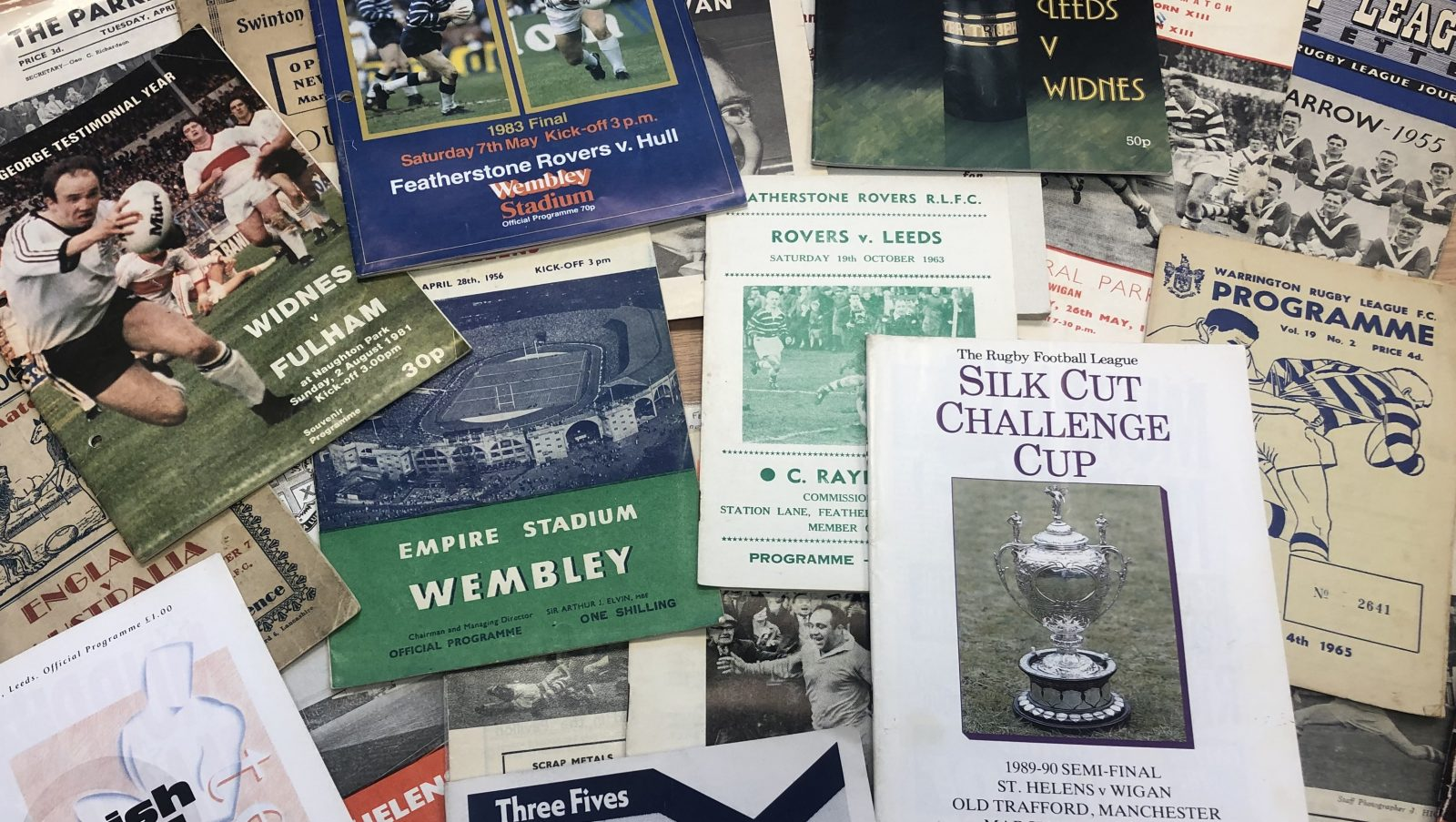 Rugby League's National Programme Archive nears 25,000 milestone