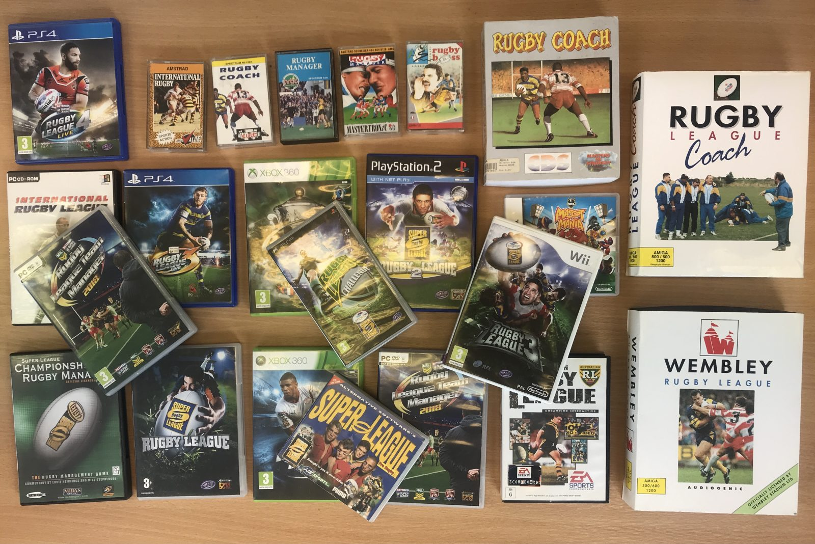 Gaming collection joins the sport's archive